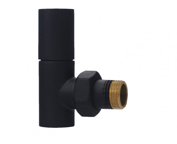 Towel Rail Valve - Matte Black 3