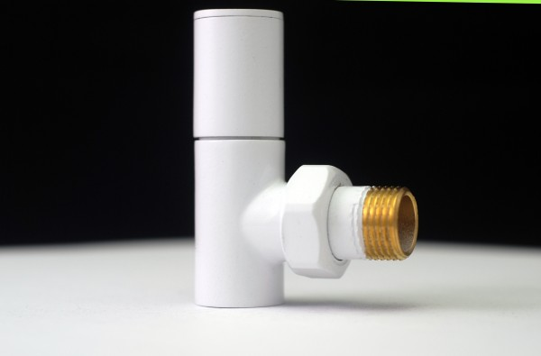 White Radiator Valve - Decorative Radiator Valves 2