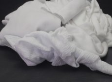White Cotton Waste 100% Cotton