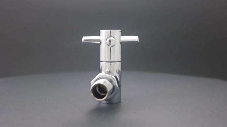 Decorative Towel Radiator Valve Angled video