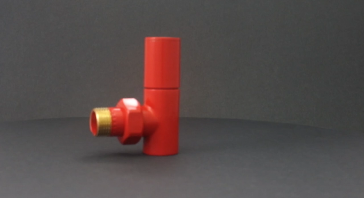 Decorative Radiator Valve Red video